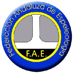 logo Fae 250, Federación Andaluza de Espeleología y Descenso de Cañones
